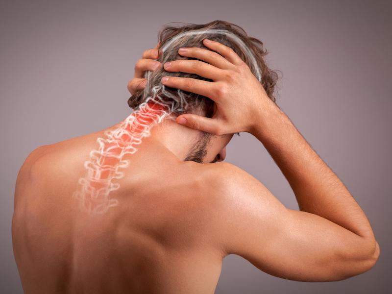 Hoofdpijn vanuit de nek